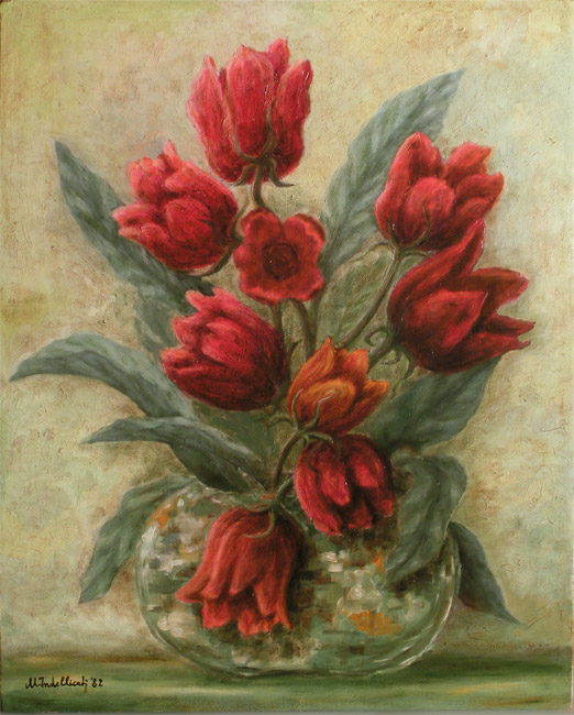 Beautiful fiori dipinti ad olio gallery acrylicgiftware for Dipinti ad olio moderni